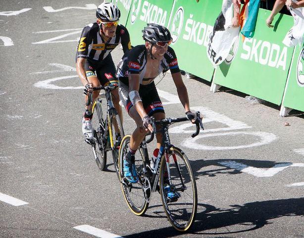 Французские гонщики Галлопан, Роллан и Баргиль о 10-м этапе Тур де Франс-2015 в День взятия Бастилии