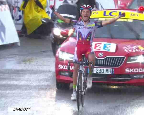 Хоаким Родригес – победитель 12 этапа Тур де Франс-2015