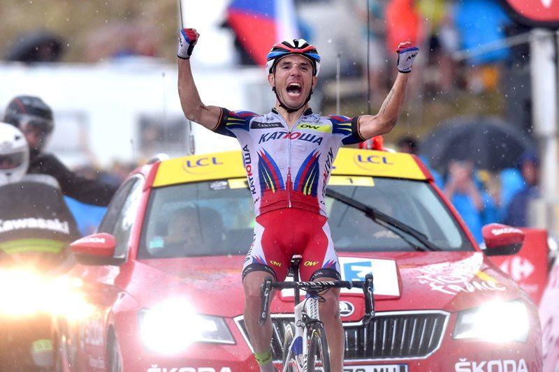 На фото (@Tim De Waele): Победа Хоакима Родригеса
