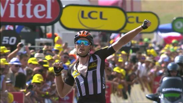 Стив Каммингс - победитель 14-го этапа Тур де Франс-2015