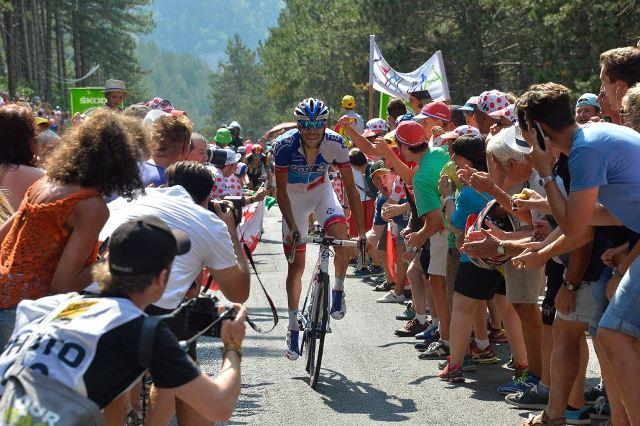Тибо Пино и Роман Барде о поражении на финише 14 этапа Тур де Франс-2015