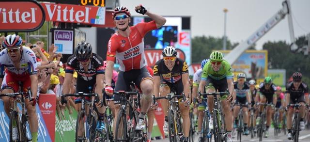Хет-трик Андре Грайпель на этапах Тур де Франс-2015