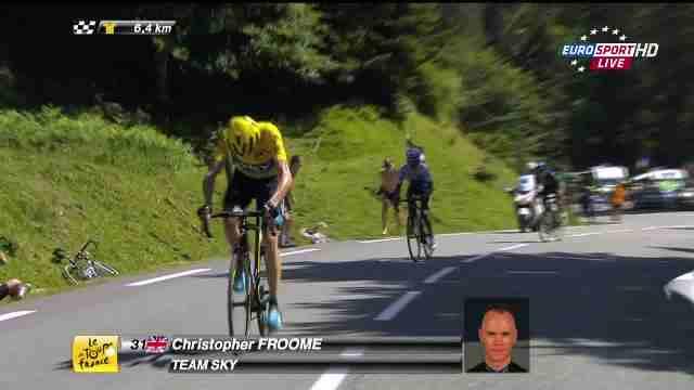 Команда Sky раскрывает показатели мощности Криса Фрума на Тур де Франс-2015
