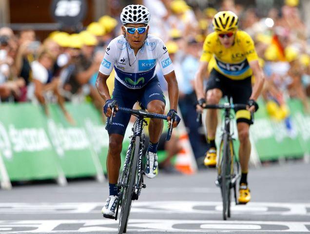 Наиро Кинтана и Алехандро Вальверде о 17-м этапе Тур де Франс-2015