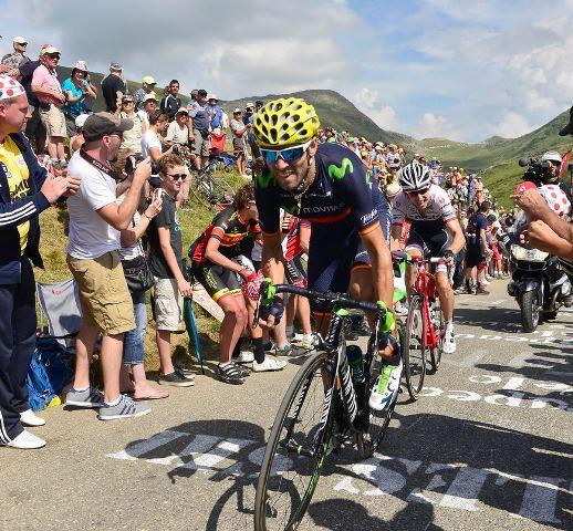 Алехандро Вальверде о 18-м альпийском горном этапе Тур де Франс-2015