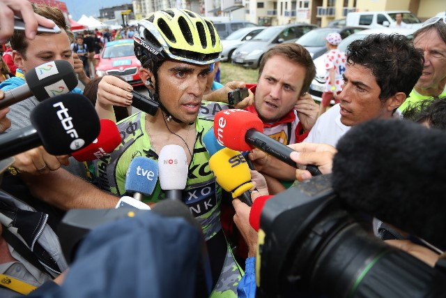 Альберто Контадор: «На следующий год будем полностью фокусироваться на Тур де Франс»