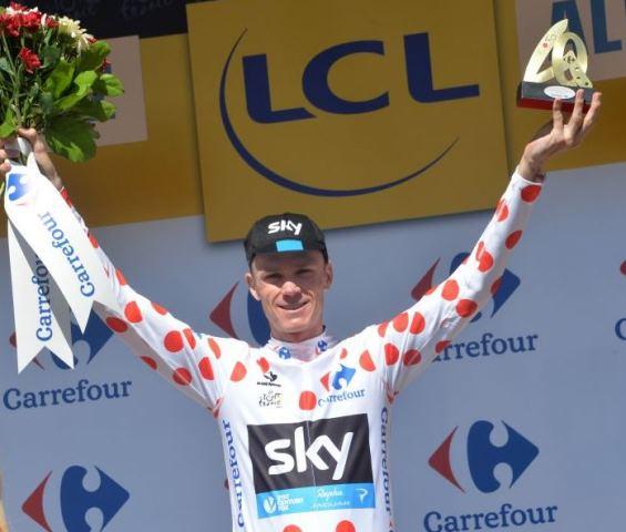 Крис Фрум – победитель горной классификации Тур де Франс-2015