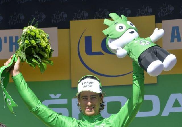 Петер Саган – победитель очковой классификации Тур де Франс-2015