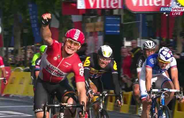 Андре Грайпель – победитель 21-го этапа Тур де Франс-2015