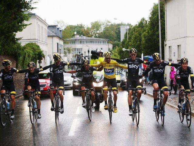 Крис Фрум благодарит команду Sky за победу на Тур де Франс-2015