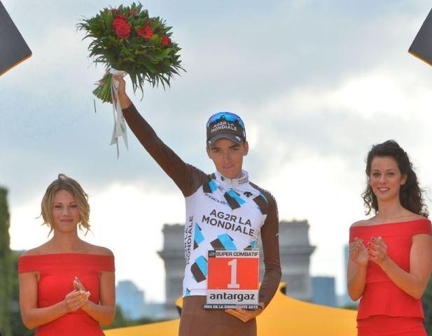 Роман Барде – самый агрессивный гонщик Тур де Франс-2015