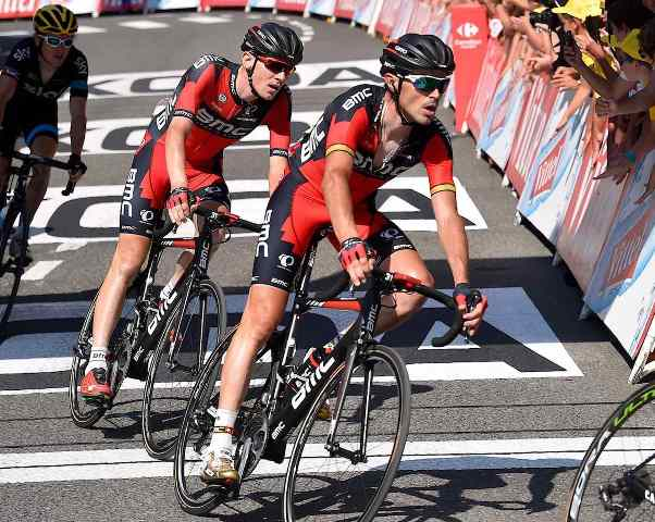 Самуэль Санчес и Тиджей Ван Гардерен – капитаны команды BMC на Вуэльту Испании-2015