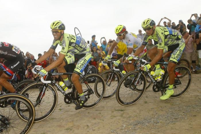 Петер Саган и Альберто Контадор о 4-м этапе Тур де Франс-2015