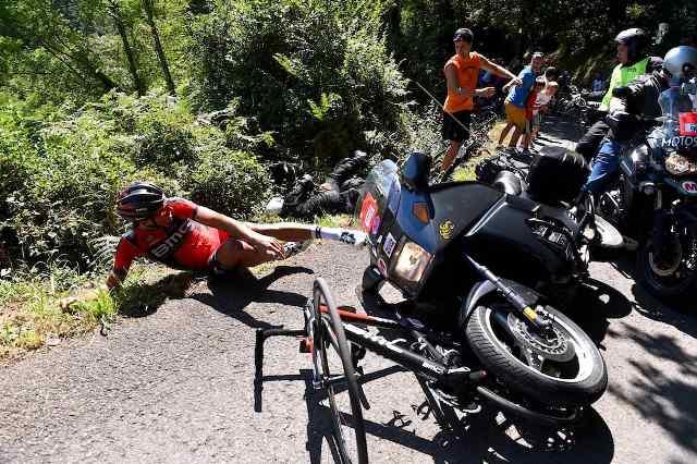 """Грег Ван Авермат: """"Если бы меня не сбил мотоцикл, я мог бы выиграть Классику Сан-Себастьяна-2015"""""""