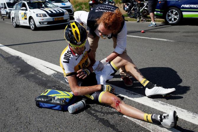 Лауренс Тен Дам сбит машиной во время тренировки