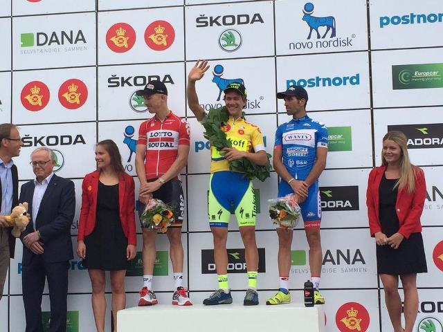 Триумф российской команды «Тинькофф-Саксо» на «Туре Дании»