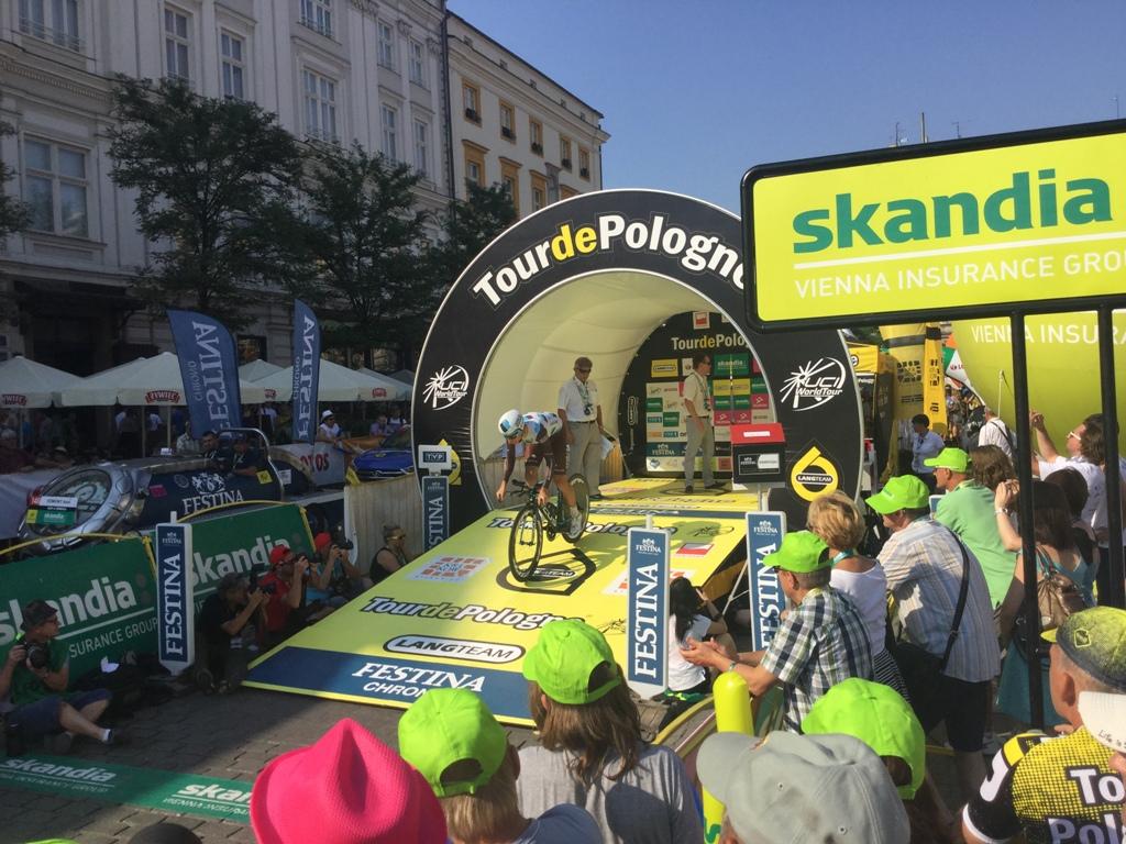 Фотоотчет с 7-го этапа Тур Польши-2015