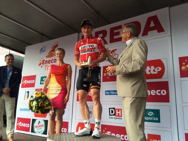 Андре Грайпель - победитель 2 этапа Энеко Тура-2015
