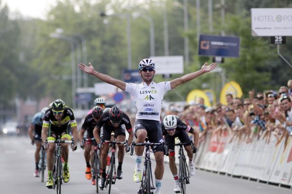 Фернандо Гавирия - лидер общего зачёта Тура Чехии-2015