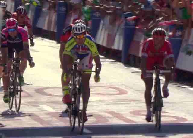 Петер Саган - победитель 3 этапа Вуэльты Испании-2015