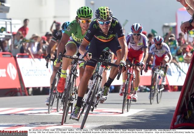 """Даниэль Морено - 3-й на четвертом этапе """"Вуэльты Испании"""""""