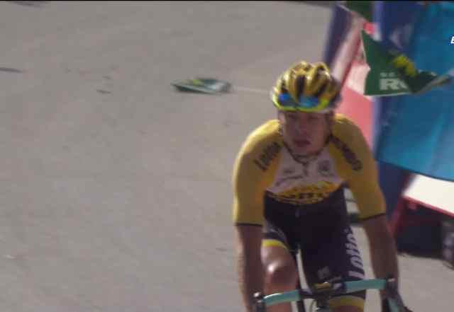 Берт-Ян Линдеман – победитель 7 этапа Вуэльты Испании-2015