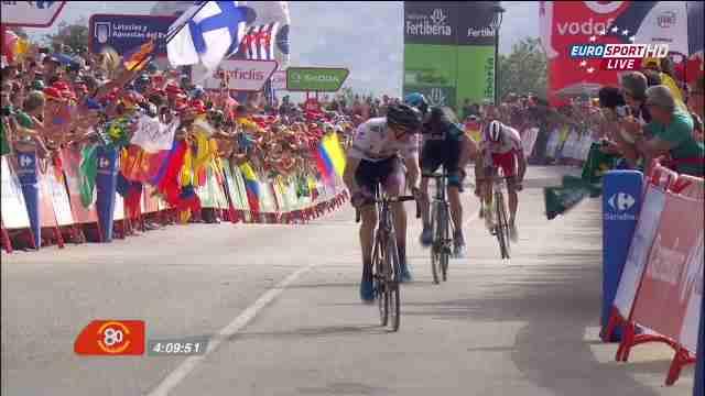 Том Дюмулин - победитель 9 этапа Вуэльты Испании-2015