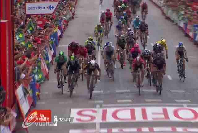 Кристиан Сбаральи - победитель 10 этапа Вуэльты Испании-2015