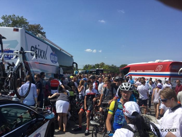 Краткий отчет со старта Тура Польши-2015 из Варшавы