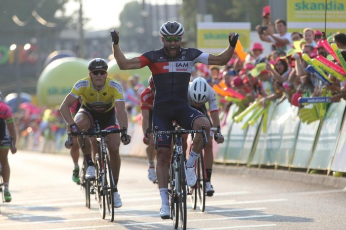 Маттео Пелукки опередил в спринте Марселя Киттеля на 2 этапе Тура Польши-2015