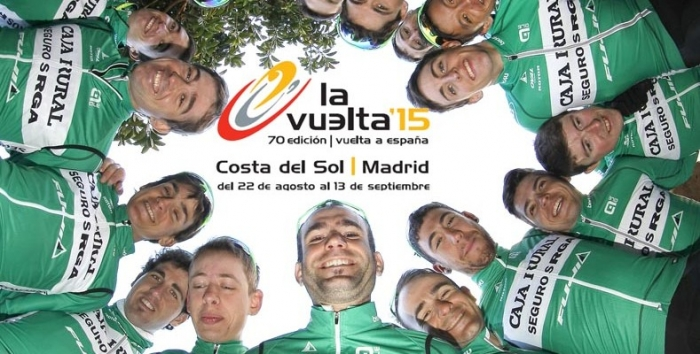 Состав команды Caja Rural-Seguros RGA на Вуэльту Испании-2015