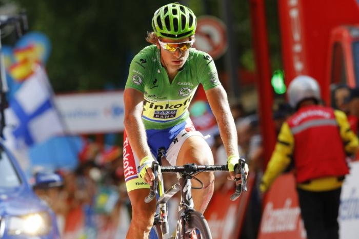 Петер Саган о падении из-за мотоцикла и штрафе на 8 этапе Вуэльты Испании-2015