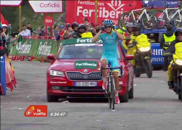 Микель Ланда - победитель 11 этапа Вуэльты Испании-2015