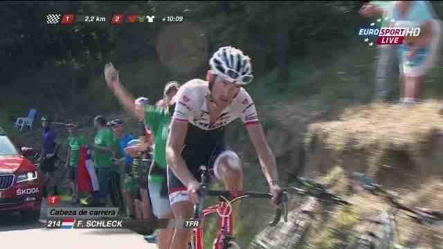 Фрэнк Шлек - победитель 16 этапа Вуэльты Испании-2015