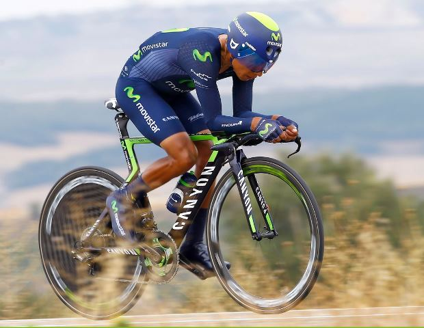 Алехандро Вальверде и Наиро Кинтана о 17-м этапе Вуэльты Испании-2015