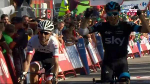 Николас Роч - победитель 18 этапа Вуэльты Испании-2015