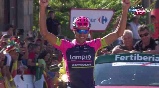 Рубен Пласа – победитель 20 этапа Вуэльты Испании-2015