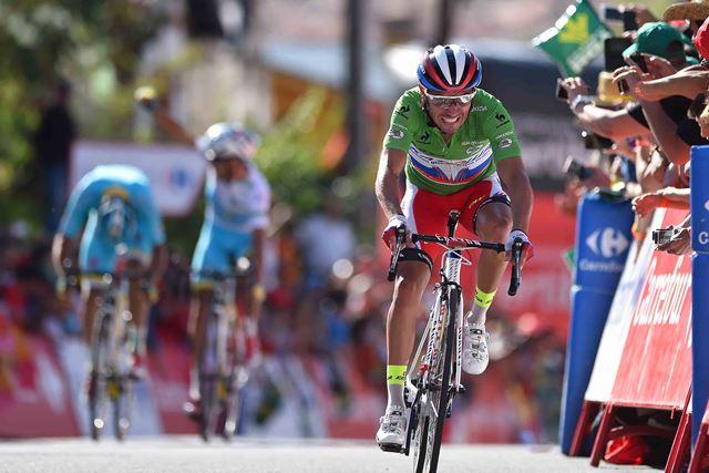 """Хоаким Родригес - 2-й в общем зачете после последнего горного этапа """"Вуэльты Испании"""""""