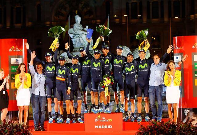Эусебио Унсуэ о выступлении команды Movistar на Вуэльте Испании-2015
