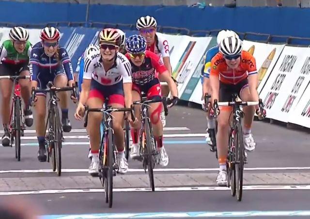 Элизабет Армитстед - чемпионка мира-2015 в групповой гонке