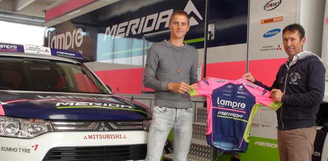 Мохорич, Кумп и Мейнтьес в команде Lampre-Merida в 2016 году
