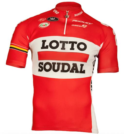 Рафаэль Валлс, Йелле Валлайс и Томаш Марчински - в команде Lotto Soudal в 2016 году