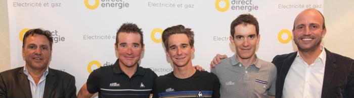 Direct Energie - новое имя велокоманды Жан-Рене Бернадо