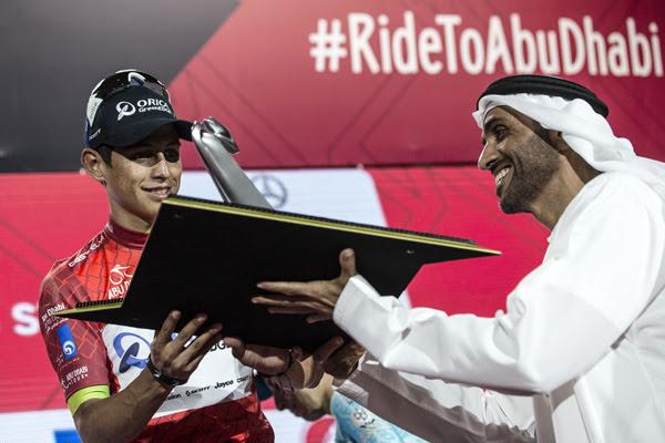 Эстебан Чавес - победитель первого Тура Абу-Даби