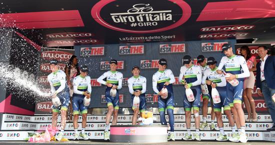 Состав команды Orica-GreenEDGE на 2016 год