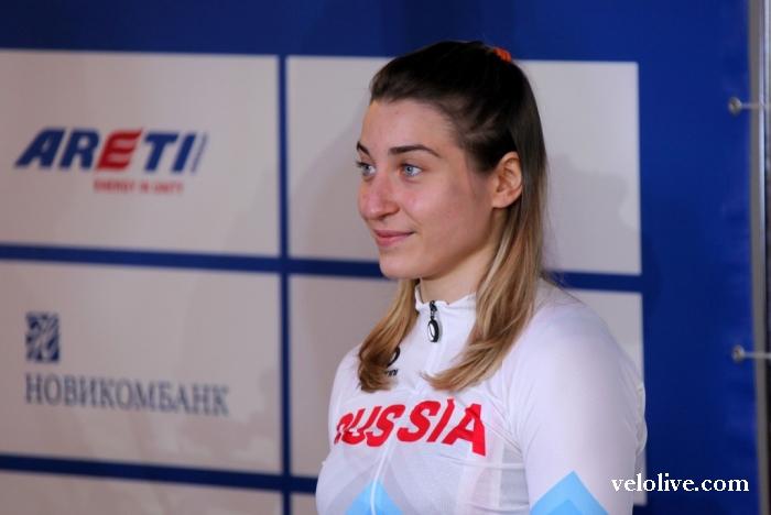 Презентация новой формы сборных команд по велоспорту России