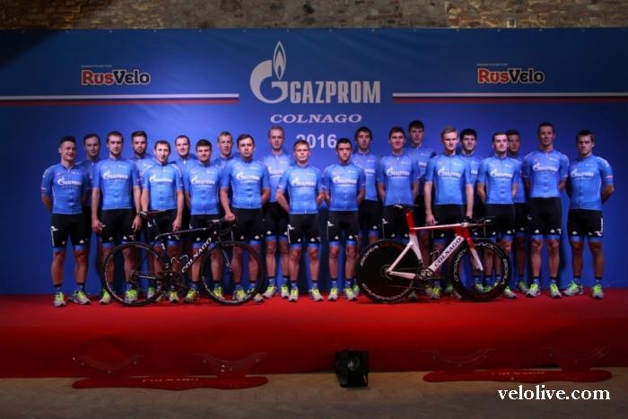"""Презентация команды """"Газпром – РусВело""""-2016"""