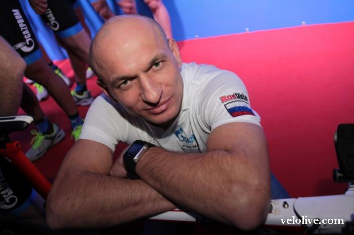 Новый старший тренер сборной России по шоссейному велоспорту Сергей Иванов