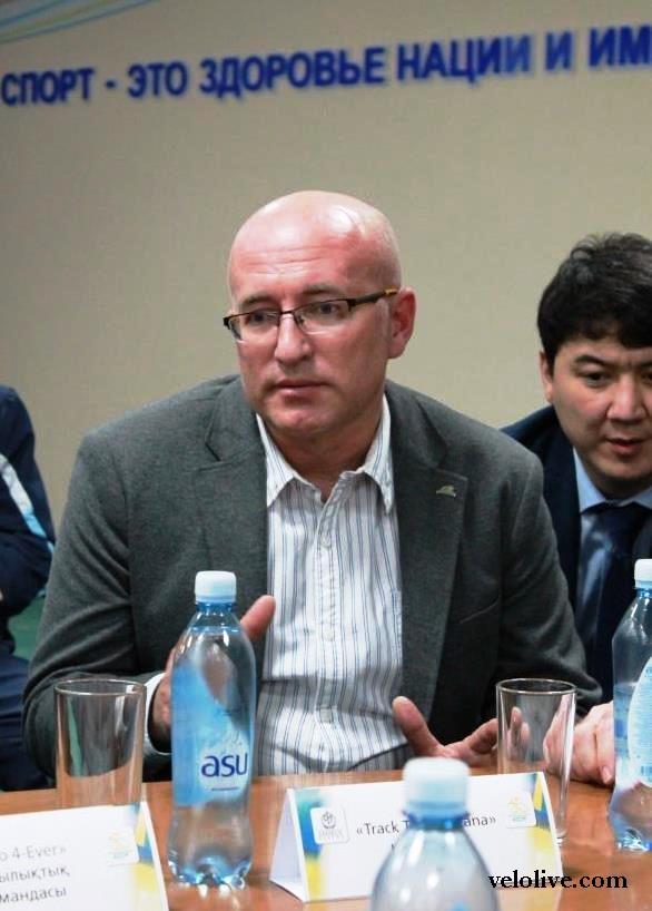 Вадим Кравченко о развитии трекового велоспорта в Казахстане