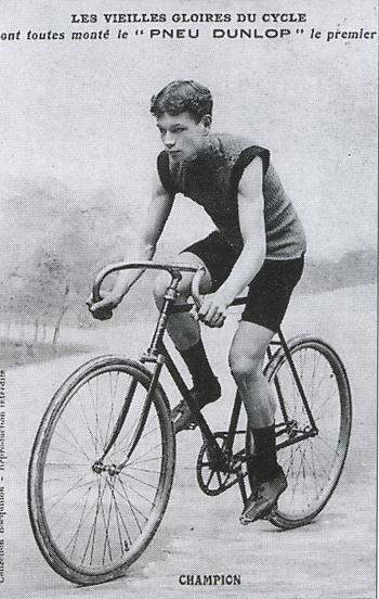 Страницы истории велоспорта: Париж-Рубэ-1899 - Альбер Шампион (Albert Champion)